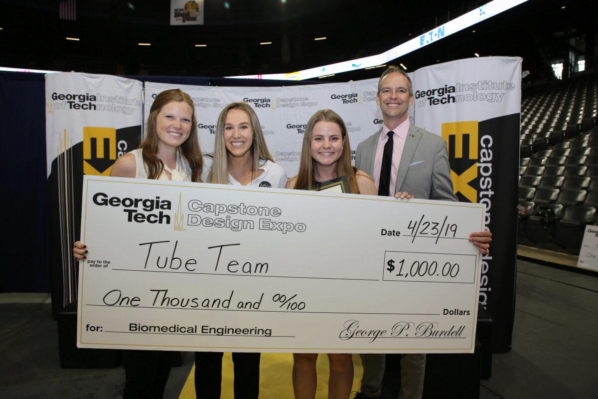 Best Biomedical Engineering team, Tube Tied