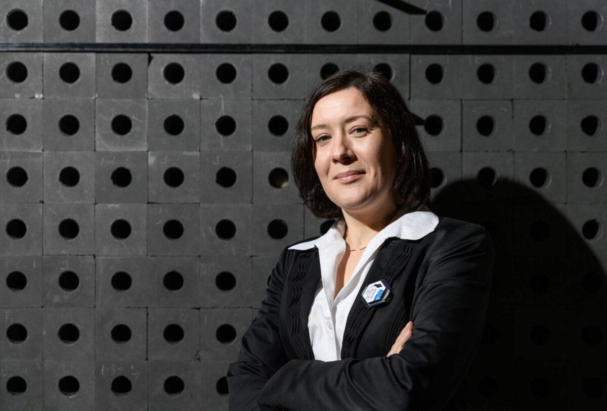 Anna Erickson with subcritical graphite pile