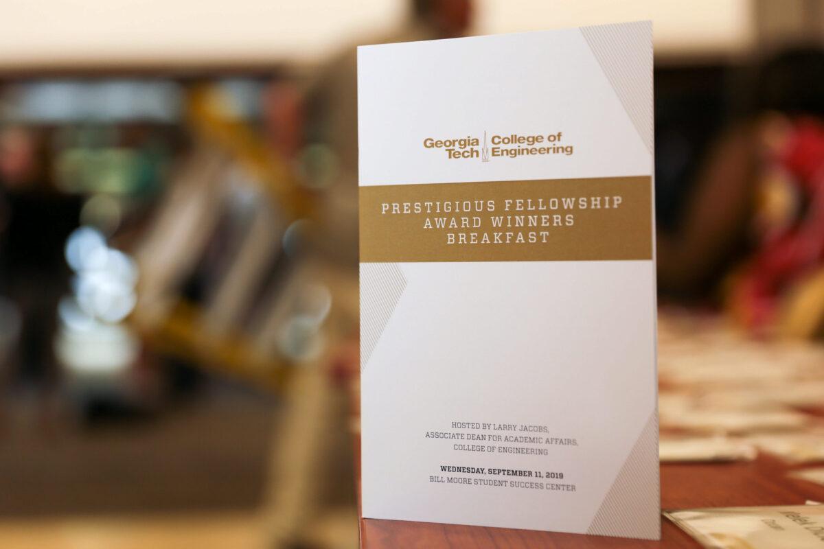 Fellowship Breakfast Awards Program