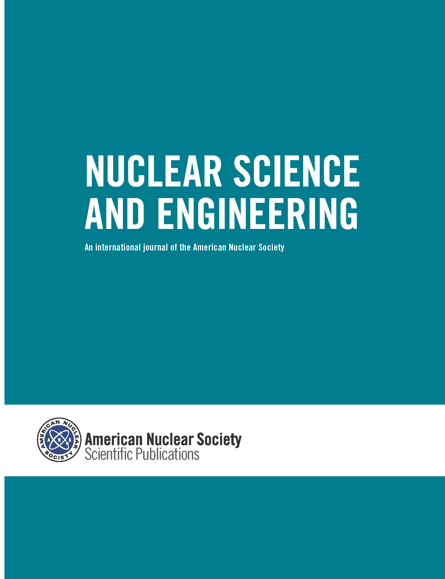 Nuclear Science and Engineering cover