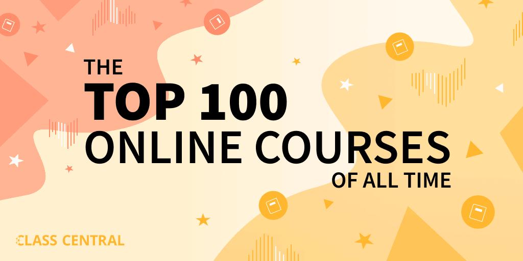 Top 100 MOOCs Banner